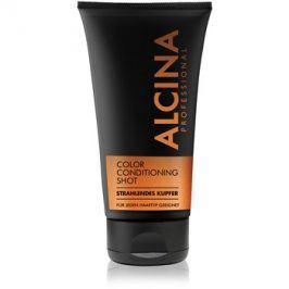 Alcina Color Conditioning Shot Copper tónovací balzám pro zvýraznění barvy vlasů odstín Bright Copper 150 ml