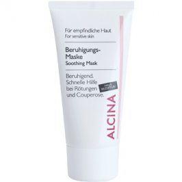 Alcina For Sensitive Skin zklidňující maska s okamžitým účinkem  50 ml