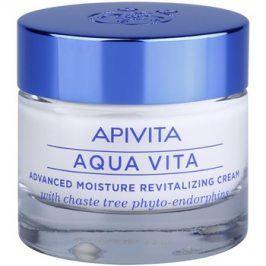 Apivita Aqua Vita intenzivní hydratační a revitalizační krém pro normální a suchou pleť  50 ml