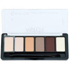 Astor Eye Artist paleta očních stínů s aplikátorem odstín 100 Cosy Nude 5,6 g