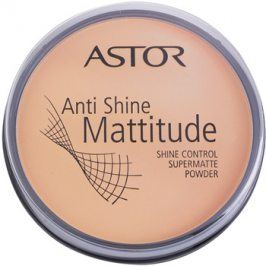 Astor Mattitude Anti Shine matující pudr odstín 003 Nude Beige  14 g