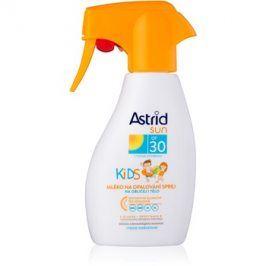 Astrid Sun Kids mléko na opalování ve spreji pro děti SPF30  200 ml