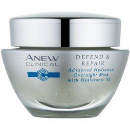 Avon Anew Clinical noční hydratační maska s regeneračním účinkem  50 ml