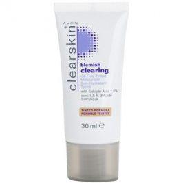 Avon Clearskin  Blemish Clearing tónovací hydratační krém pro problematickou pleť odstín Medium  30 ml