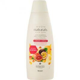 Avon Naturals Hair Care šampon a kondicionér 2 v 1  700 ml