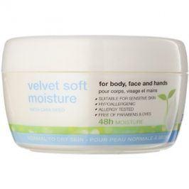 Avon Nutra Effects zjemňující hydratační denní a noční krém na obličej a tělo  200 ml