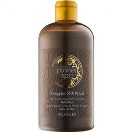 Avon Planet Spa Indulgent SPA Ritual koupelová pěna s bambuckým máslem a čokoládou  400 ml