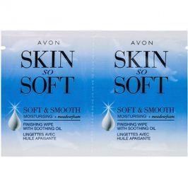 Avon Skin So Soft Smooth voskové depilační pásky na obličej  10x2 ks