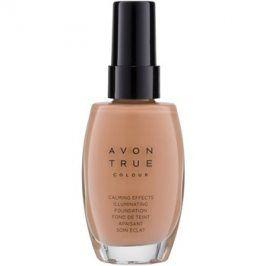 Avon True Colour zklidňující make-up pro rozjasnění pleti odstín Warmest Beige 30 ml