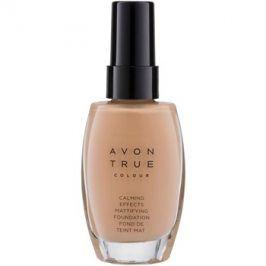 Avon True Colour zklidňující make-up pro matný vzhled odstín Cream 30 ml