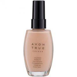 Avon True Colour zklidňující make-up pro matný vzhled odstín Ivory 30 ml