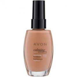 Avon True Colour zklidňující make-up pro matný vzhled odstín Warmest Beige 30 ml