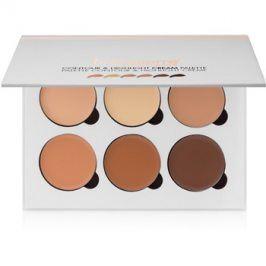 BelláPierre Contour & Highlight paleta na kontury obličeje krémová  24 g