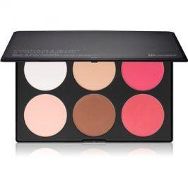 BHcosmetics Contour & Blush paleta na kontury obličeje  57 g