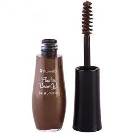 BHcosmetics Flawless gel na obočí odstín Dark Brown 6 g