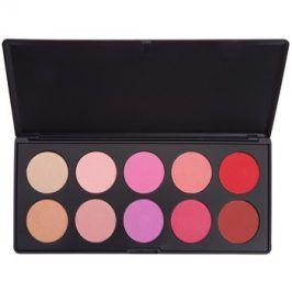 BHcosmetics Glamorous paleta tvářenek  27 g