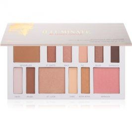 BHcosmetics Illuminate by Ashley Tisdale multifunkční paleta odstín Beach Goddess 17 g