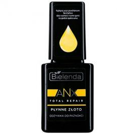 Bielenda AXN Total Repair Liquid Gold regenerační kondicionér na nehty odstín Milky 11 ml