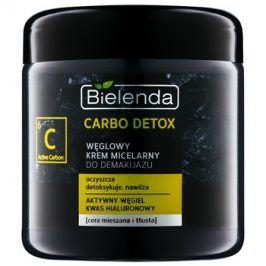 Bielenda Carbo Detox Active Carbon čisticí micerální krém s aktivním uhlím pro smíšenou a mastnou pleť  250 ml