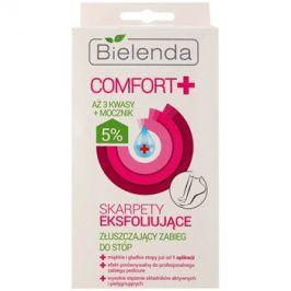 Bielenda Comfort+ exfoliační ponožky pro zjemnění a hydrataci pokožky nohou  2 x 20 ml