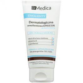 Bielenda Dr Medica Emollients dermatologická zvláčňující emulze na mytí obličeje pro citlivou zralou pleť  150 ml