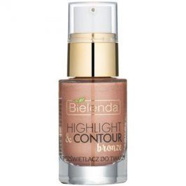 Bielenda Highlight & Contour rozjasňovač odstín Bronze 15 ml