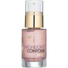 Bielenda Highlight & Contour rozjasňovač odstín Peach 15 ml