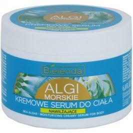 Bielenda Sea Algae Moisturizing krémové sérum na tělo pro vypnutí pokožky  200 ml