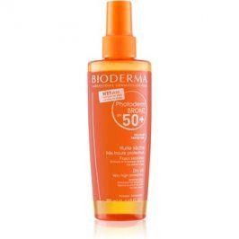 Bioderma Photoderm Bronz ochranný suchý olej ve spreji SPF50+  200 ml