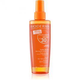 Bioderma Photoderm Bronz ochranný suchý olej ve spreji SPF30  200 ml