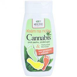 Bione Cosmetics Cannabis změkčující krém na nohy  260 ml
