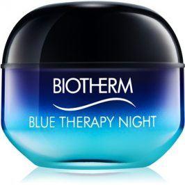 Biotherm Blue Therapy noční protivráskový krém pro všechny typy pleti  50 ml