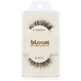 Bloom Natural nalepovací řasy z přírodních vlasů (Dwispy, Black) 1 cm