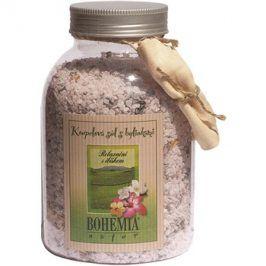 Bohemia Gifts & Cosmetics Bohemia Natur relaxační koupelová sůl s ibiškem  1 200 g