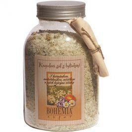 Bohemia Gifts & Cosmetics Bohemia Natur koupelová sůl se třemi druhy bylin heřmánek, měsíček, mateřídouška  1 200 g