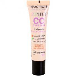 Bourjois 123 Perfect CC krém pro bleskově bezchybný vzhled odstín Beige Rose 33 SPF 15  30 ml