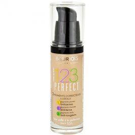 Bourjois 123 Perfect tekutý make-up pro perfektní vzhled odstín 51 Vanille Clair SPF 10  30 ml