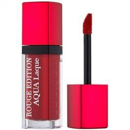 Bourjois Rouge Edition Aqua Laque hydratační rtěnka s vysokým leskem odstín 05 Red my lips 7,7 ml