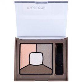 Bourjois Smoky Stories paleta kouřových očních stínů odstín 12 Sau Mondaine 3,2 g