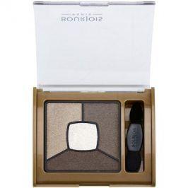 Bourjois Smoky Stories paleta kouřových očních stínů odstín 06 Upside Brown 3,2 g