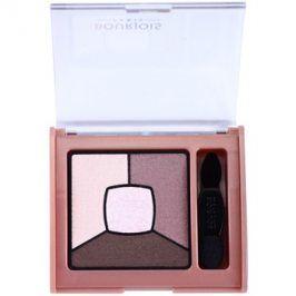 Bourjois Smoky Stories paleta kouřových očních stínů odstín 15 Over Rose 3,2 g