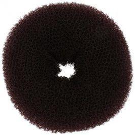 BrushArt Hair Donut vycpávka do drdolu hnědá (8 cm)