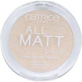 Catrice All Matt Plus matující pudr odstín 010 Transparent 10 g