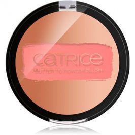 Catrice Blush Flush krémová tvářenka odstín 02 Peach Parfait 3,87 g
