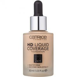 Catrice HD Liquid Coverage make-up odstín 010 Light Beige 30 ml