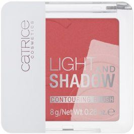 Catrice Light & Shadow konturovací tvářenka odstín 030 Rose Propose 8 g