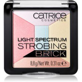 Catrice Light Spectrum Strobing Bricks rozjasňovač odstín 030 Candy Cotton 8,8 g