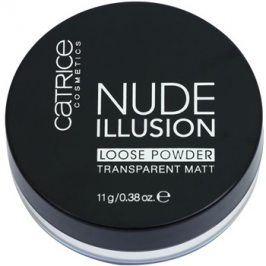 Catrice Nude Illusion matující transparentní pudr odstín  11 g