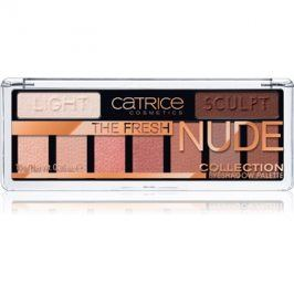 Catrice The Fresh Nude Collection oční stíny odstín 010 Newly Nude 10 g