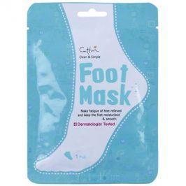 Cettua Clean & Simple exfoliační ponožky pro zjemnění a hydrataci pokožky nohou